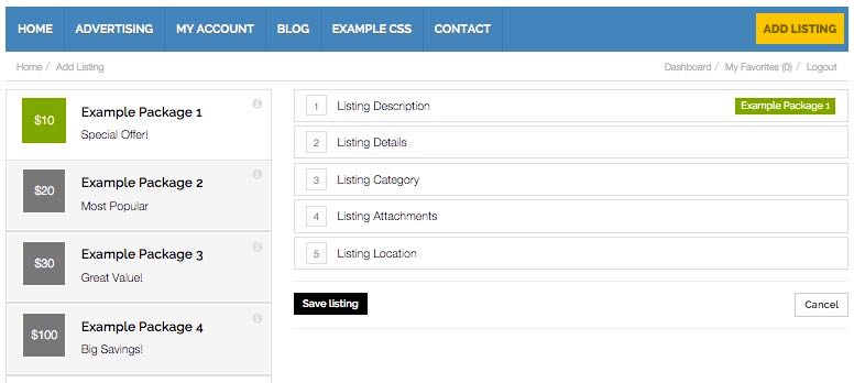 Adding Classified Listings to Directory Theme