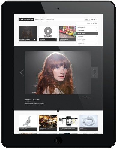 CreativeGrid Pro WordPress iPad Theme