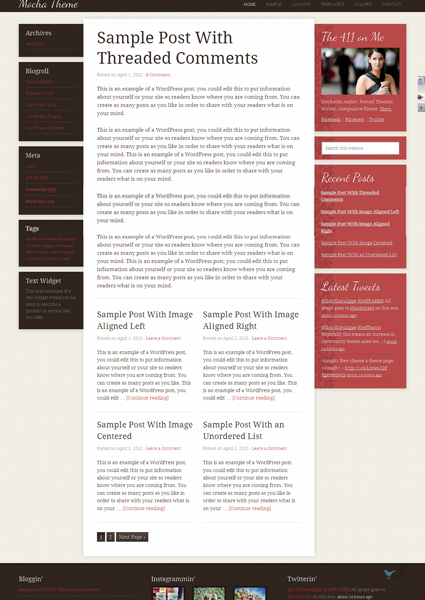 Mocha 2.0 Child WordPress Theme