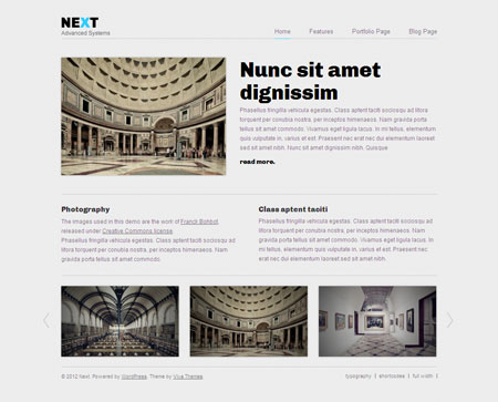 Next WordPress Business Theme