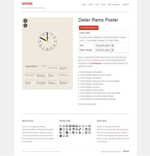 Kiosk WordPress Light eCommerce Theme