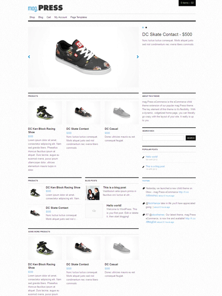 Mag.Press WordPress Responsive eCommerce Theme