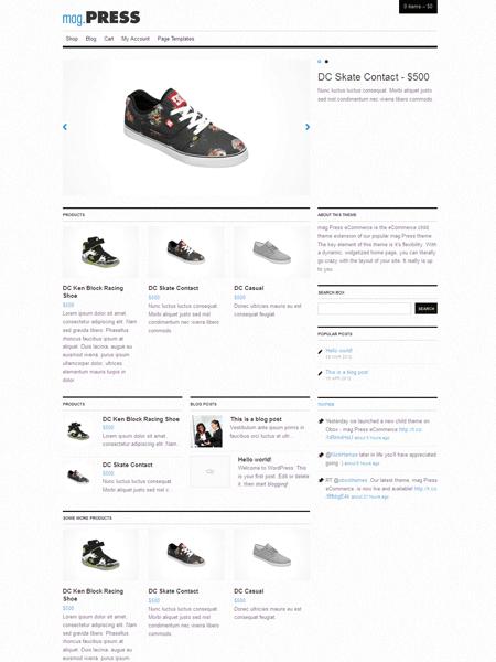 Mag.Press WordPress Responsive eCommerce Theme
