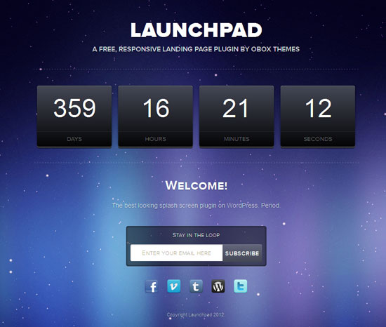 LaunchPad WP Pre-Launch Plugin