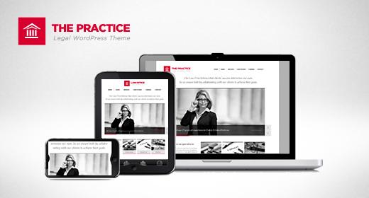The Practice Responsive WP Consultancy Theme
