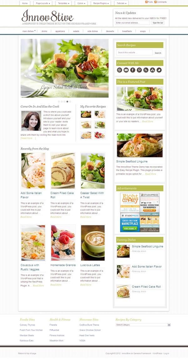 Innov8tive Child WordPress Theme