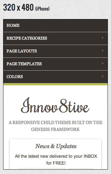 Innov8tive WP Mobile Responsive Theme