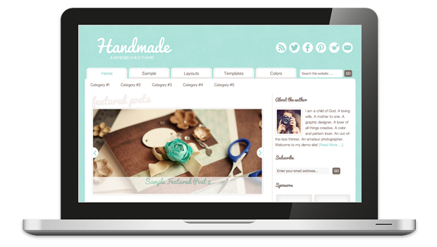 Handmade 1.0 WordPress Theme