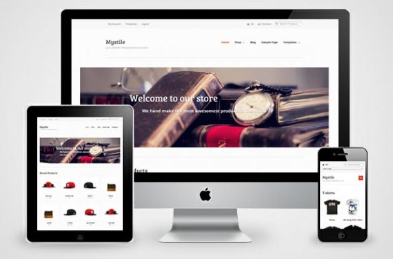 Mystile WordPress Theme