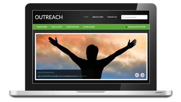 Outreach WordPress Non-Profit Organization Theme
