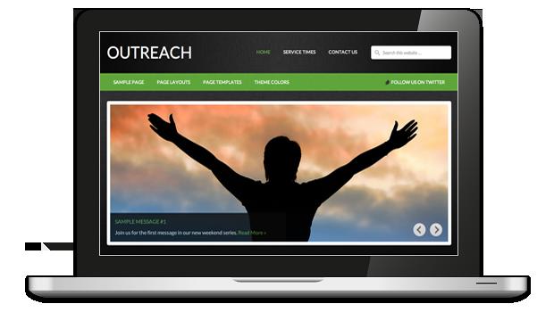 Outreach WordPress Non-Profit Organization Theme