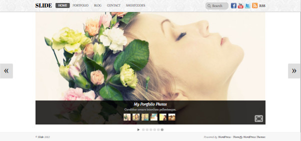 Slide Responsive WordPress Theme
