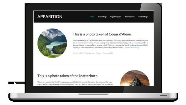 Apparition 1.0 Responsive WordPress Theme