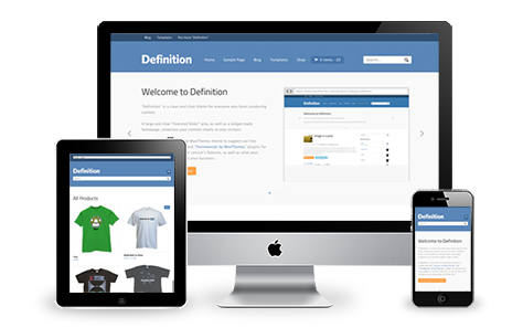 Definition Responsive WordPress Theme