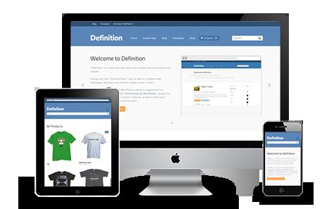 Definition Responsive WordPress Theme