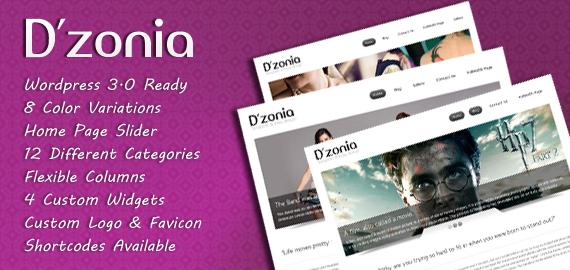 Dzonia WordPress Theme