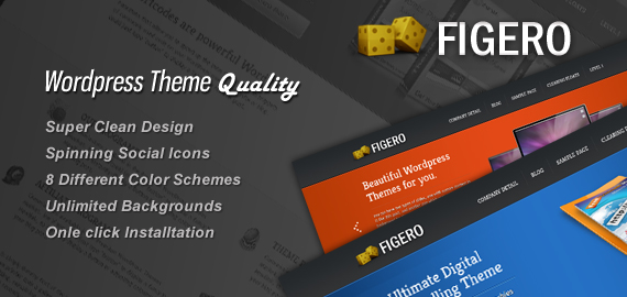 Figero WordPress eCommerce Theme