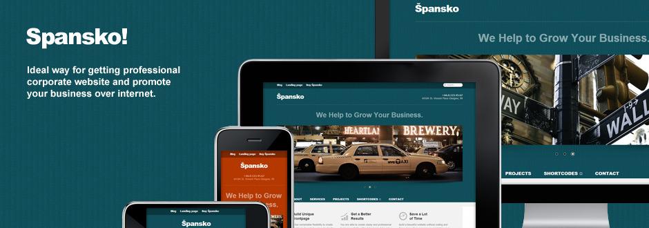Spansko Responsive WordPress Theme