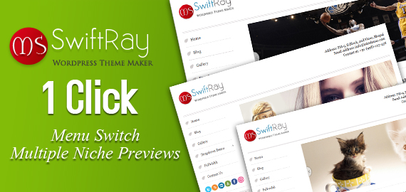 SwiftRay WordPress Theme