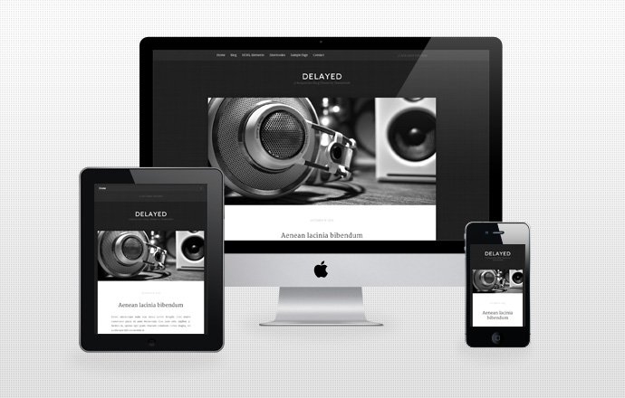 deLayed Responsive WordPress Blog Theme