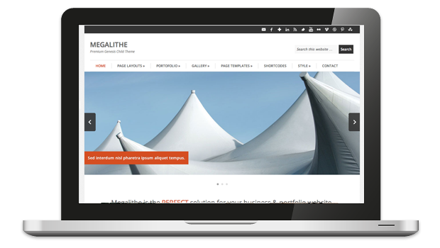 Megalithe Responsive Business Theme