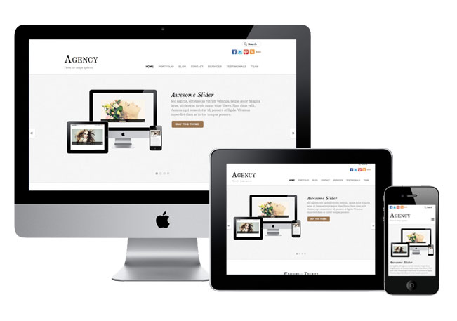 Agency Responsive WordPress Design Theme