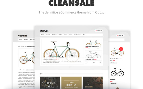 CleanSale WordPress Merchants Theme