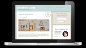 Decor8ted Responsive WordPress Theme