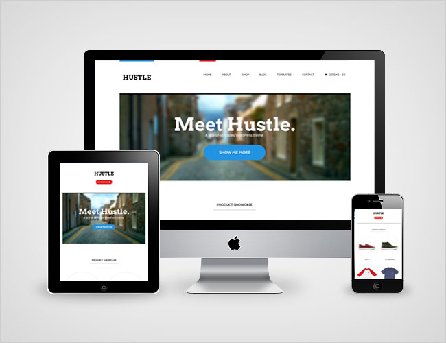 Hustle Responsive WordPress Theme