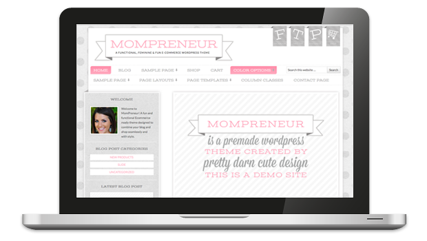 MomPreneur Responsive WordPress Theme