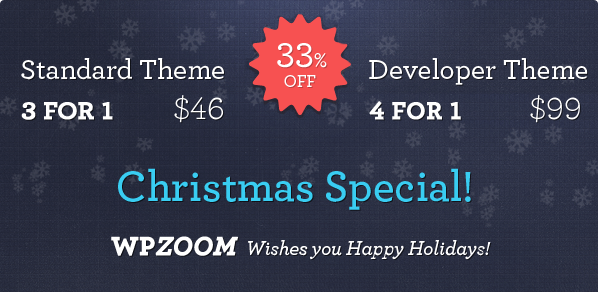 WPzoom Discount Coupon Code 2013