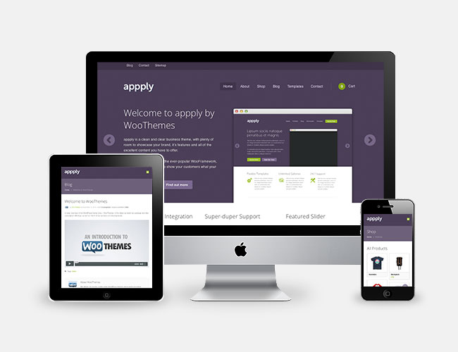 Appply Responsive WordPress Theme