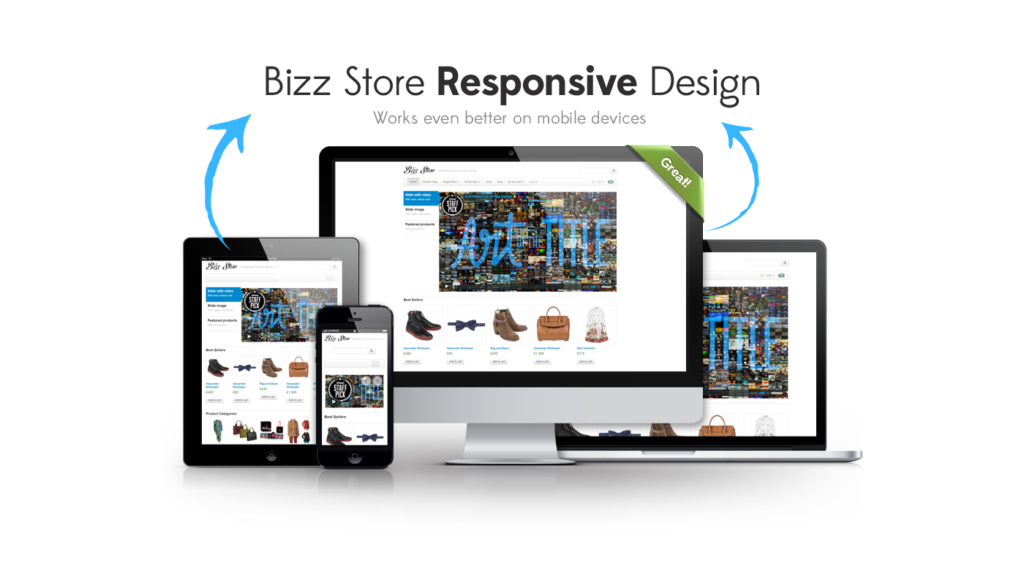 Bizz Store Responsive WordPress Theme