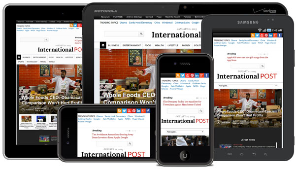 InternationalPost WordPress Theme