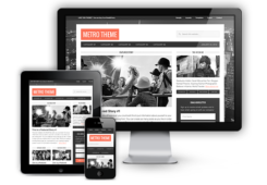 Metro 1.0 Responsive WordPress Magazine Theme