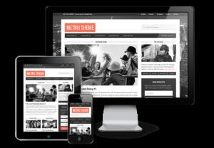 Metro 1.0 Responsive WordPress Magazine Theme