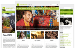 NonProfit V4 Retina Optimized WordPress Theme