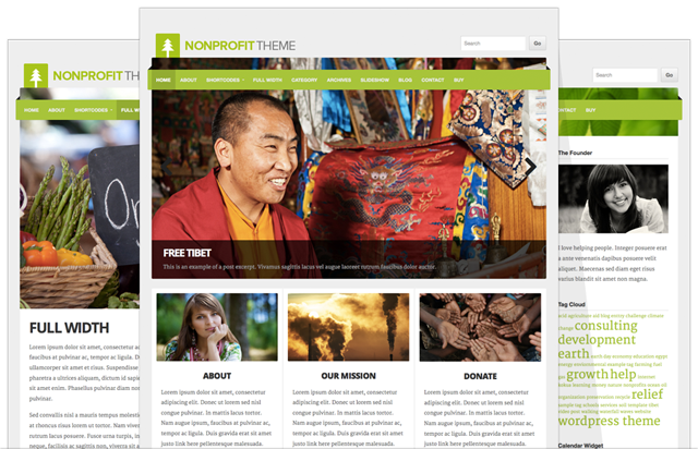 NonProfit V4 Retina Optimized WordPress Theme