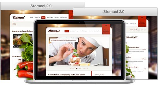 Stomaci Responsive WordPress Restaurant Theme