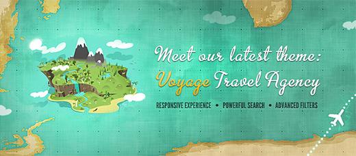 Voyage WordPress Vacation Theme