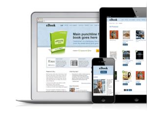 eBook V2 Responsive WordPress Book Theme