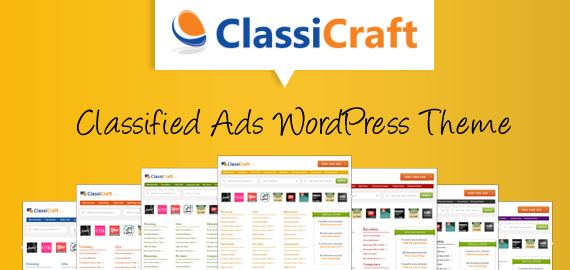 Classicraft A Responsive Wordpress Classified Ad Listing Theme