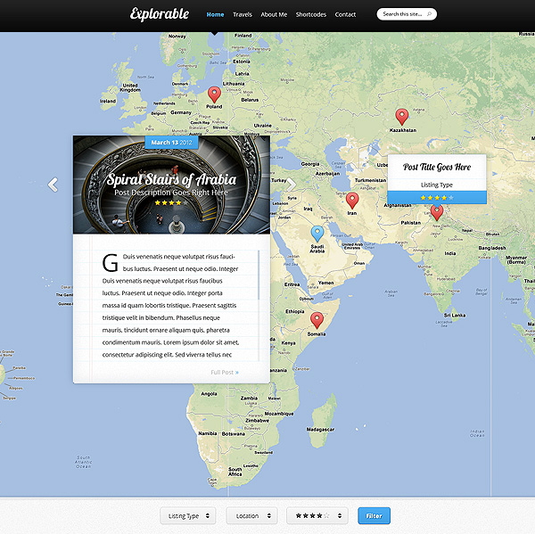 Explorable-WordPress-Travel-Portal-Theme
