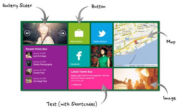 Metro WordPress Tile Theme