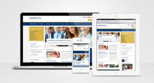 Academica Pro Responsive WordPress Education Theme