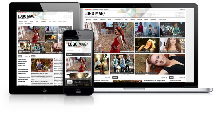Patterns Responsive WordPress Magazine Theme