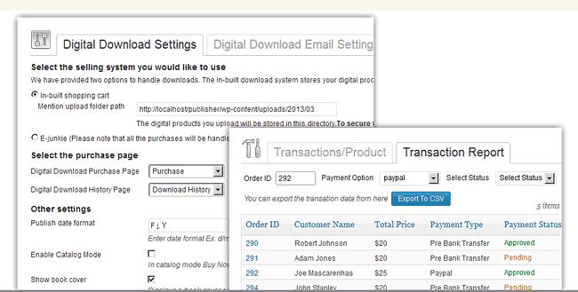 Publisher v2 Digital Download Theme