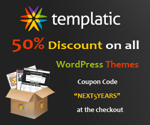 Templatic 50 coupon code 2013