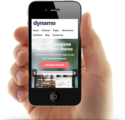 Dynamo Responsive WordPress Corporate Theme