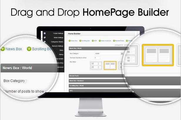 Jarida-Drag-&-Drop-Homepage-Builder-Theme
